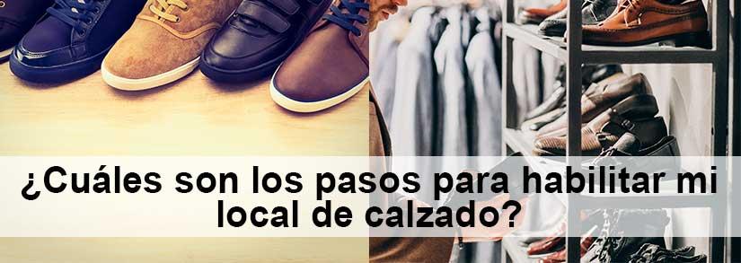 pasos para el premiso comercial local de calzado